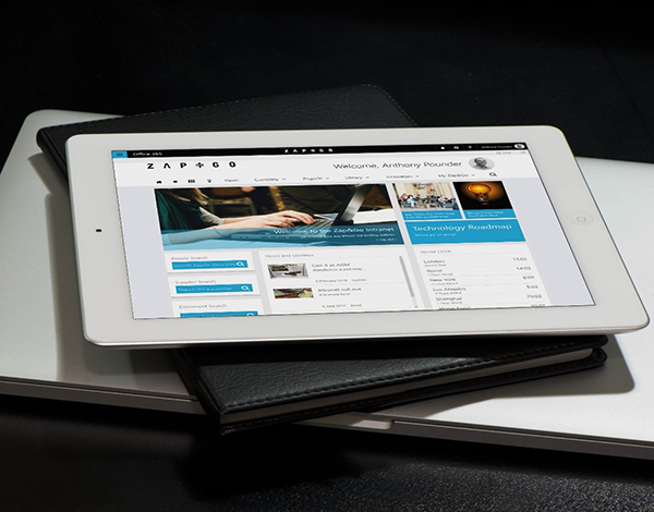 Zap&Go Intranet Tablet