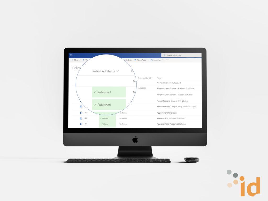 intranet document management system docCentrum
