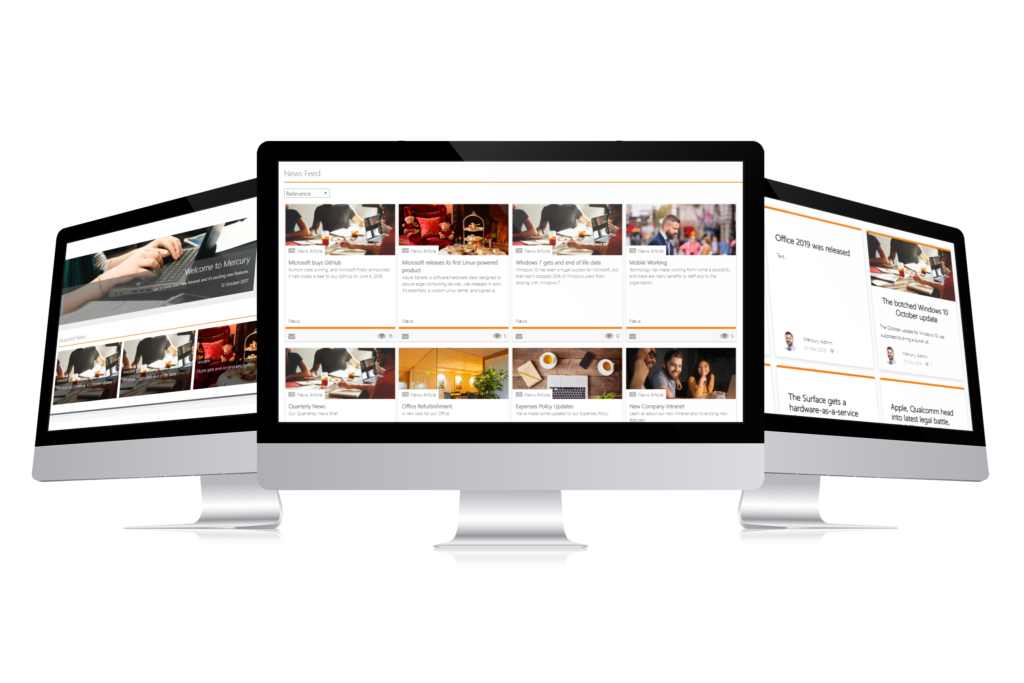 news and updates intranet feature