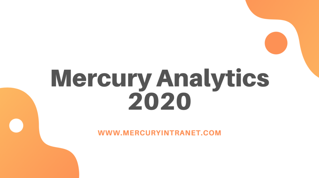 Mercury intranets analytics 2020