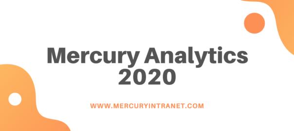 Mercury Analytics 2020