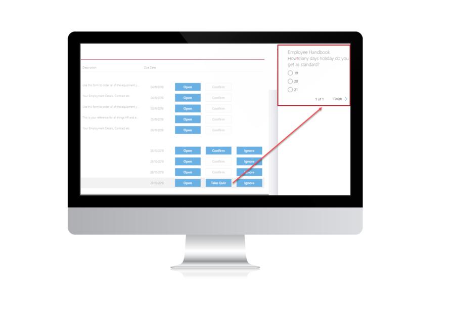 Validator document management feature