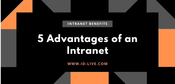 top 5 advantages of an intranet