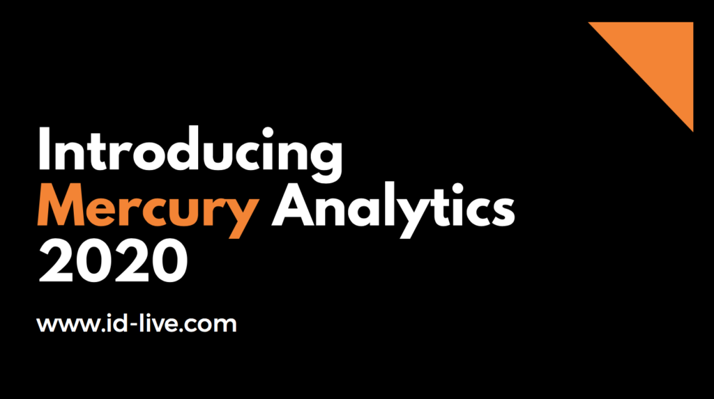 Introducing Mercury analytics 2020